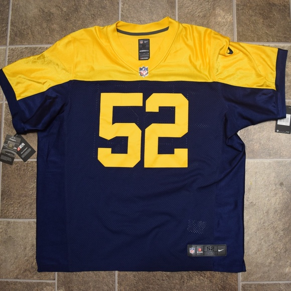 buy popular 169a5 3b464 Nike Clay Matthews #52 Throwback Jersey On Field NWT